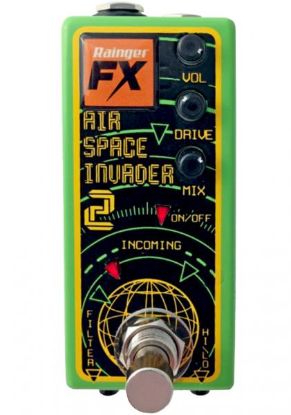 Pédale overdrive / distortion / fuzz Rainger fx Air Space Invader 2 Overdrive