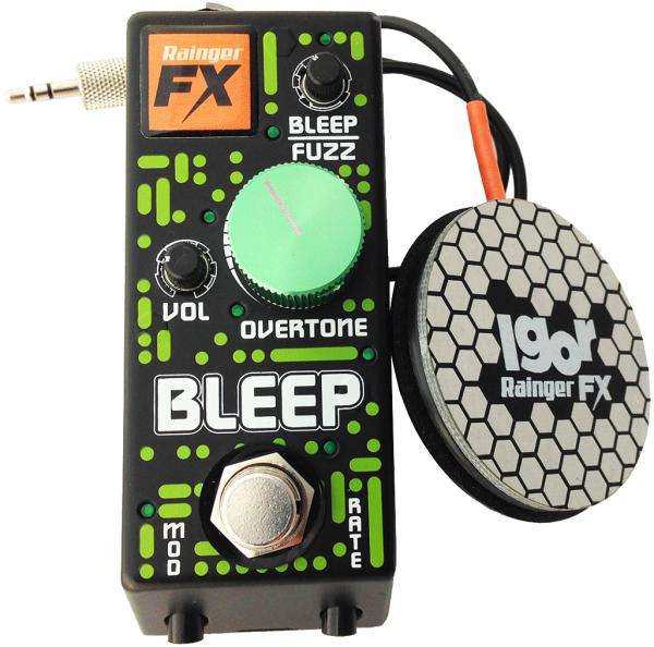Pédale overdrive / distortion / fuzz Rainger fx Bleep Fuzz (with Igor controller)