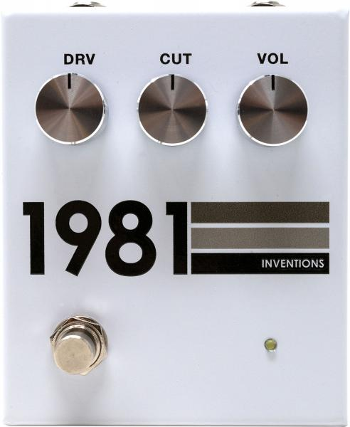 Pédale overdrive / distortion / fuzz 1981 inventions DRV no. 3 Preamp/Distortion - Grayscale