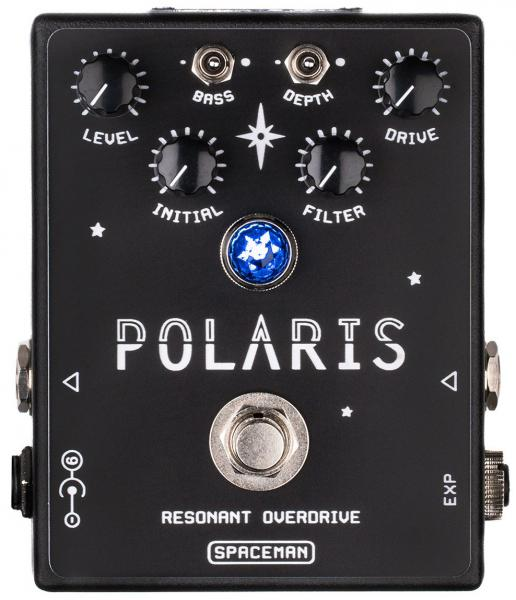 Pédale overdrive / distortion / fuzz Spaceman effects Polaris Resonant Overdrive Ltd - Black