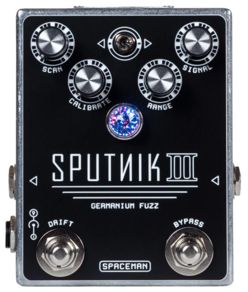 Pédale overdrive / distortion / fuzz Spaceman effects Sputnik III Germanium Fuzz Standard