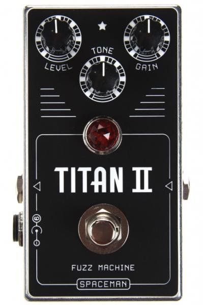 Pédale overdrive / distortion / fuzz Spaceman effects Titan II Fuzz Disto Overdrive Ltd - Silver
