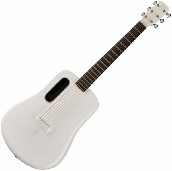 Guitare acoustique voyage Lava music Lava Me 2 Freeboost - White