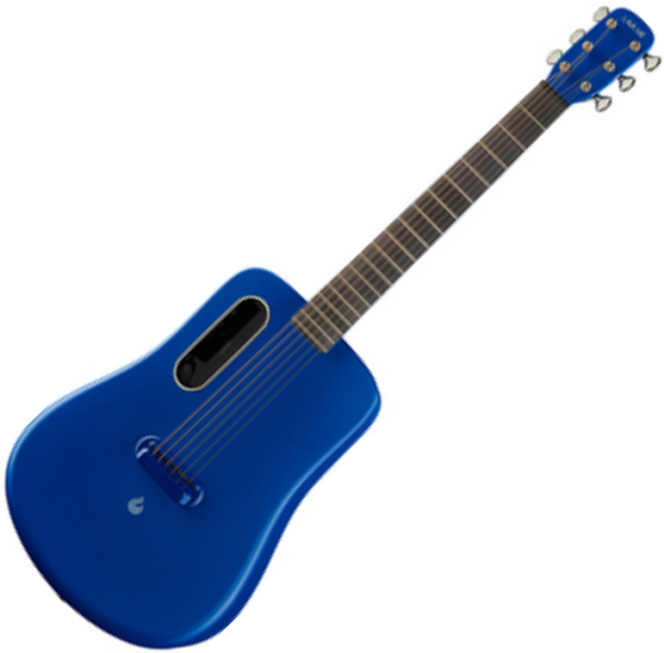 Guitare acoustique voyage Lava music Lava Me 2 Freeboost - Blue