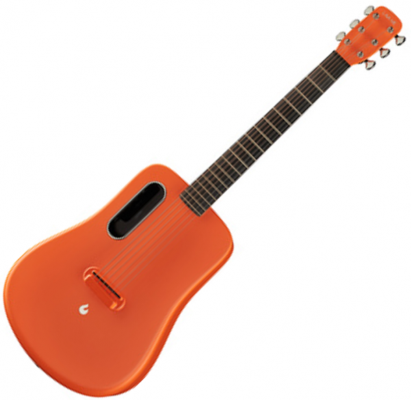 Guitare acoustique voyage Lava music Lava Me 2 Freeboost - Orange
