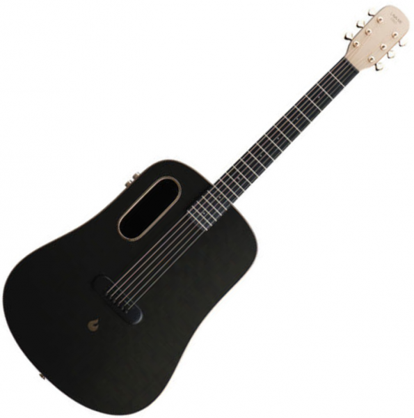 Guitare acoustique voyage Lava music Lava Me Pro - Black & gold