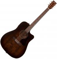 Guitare folk Art et lutherie Americana Dreadnought CW QIT - Bourbon burst