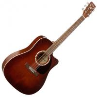 Dreadnaught Cedar Cutaway Quantum I - Antique burst