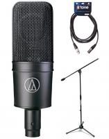 Pack home studio Audio technica AT4033 ASM + pied + câble XLR 6m