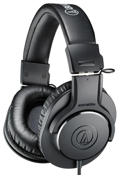 Casque studio & dj Audio technica ATH-M20X - Black