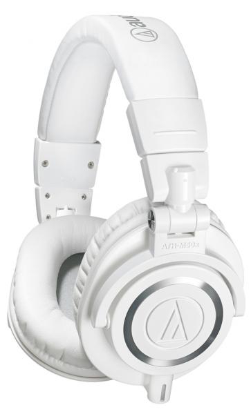 Casque studio & dj Audio technica ATH-M50XWH - White