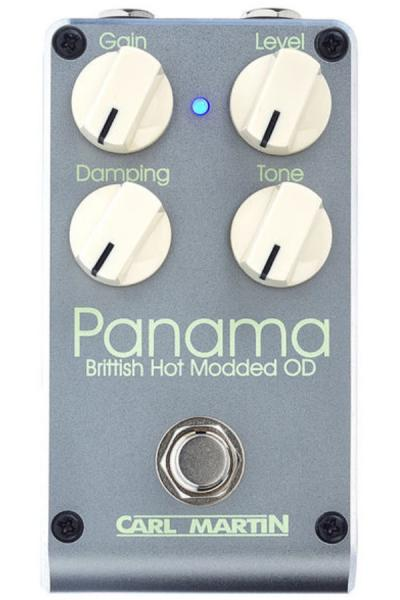Pédale overdrive / distortion / fuzz Carl martin Panama Brittish Hot Modded OD