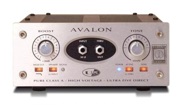 Boitier direct / di Avalon design U5 Silver