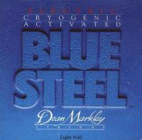 2552 Blue Steel Electric 009-042 - Jeu de cordes