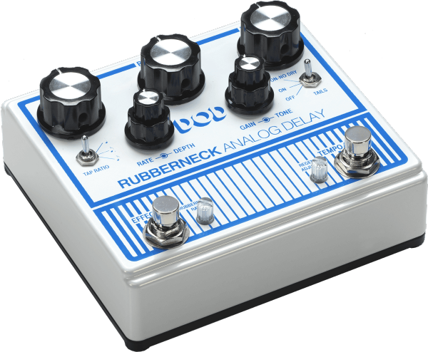 Pédale reverb / delay / echo Dod                            Rubberneck Delay