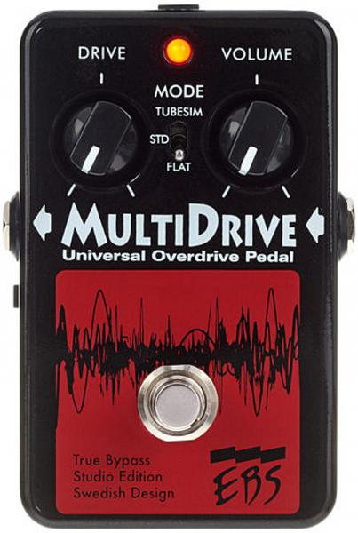 Pédale overdrive / distortion / fuzz Ebs                            MultiDrive Studio Edition