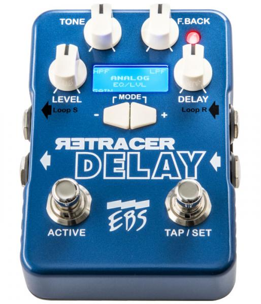 Pédale reverb / delay / echo Ebs                            Retracer Delay Workstation