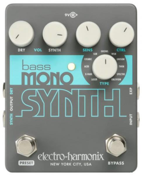 Pédale effet simulation - modelisation Electro harmonix Bass Mono Synth Bass Synthesizer