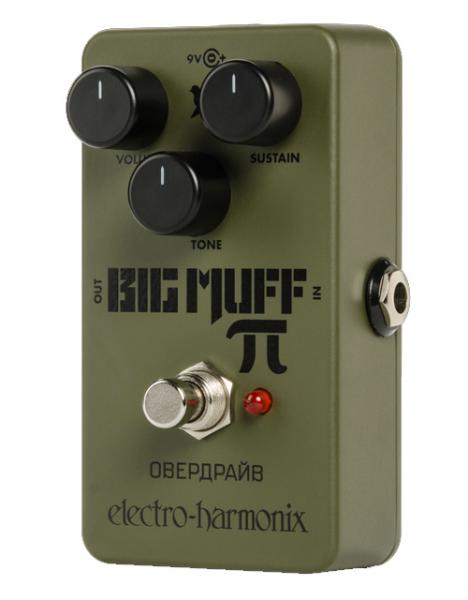 Pédale overdrive / distortion / fuzz Electro harmonix Green Russian Big Muff