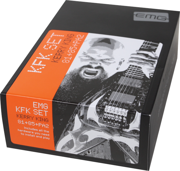 Micro guitare electrique Emg                            Kerry King KFK Signature Set