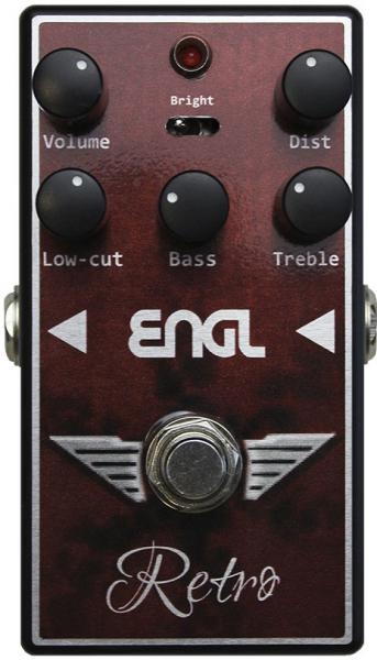 Pédale overdrive / distortion / fuzz Engl RS-10 Retro