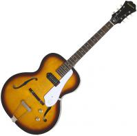 Guitare électrique hollow body Epiphone Inspired By 1966 Century - Aged Gloss Vintage Sunburst