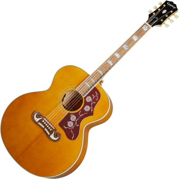 Guitare folk & electro Epiphone Inspired by Gibson J-200 - Aged antique natural