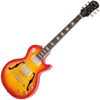 Guitare électrique hollow body Epiphone Les Paul ES PRO - faded cherry