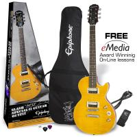 Slash AFD Les Paul Special-II Guitar Outfit - Appetite amber