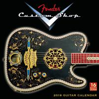 Calendrier Fender 2018 Custom Shop Wall Calendar