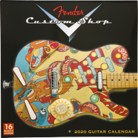 Calendrier Fender 2020 Custom Shop Wall Calendar