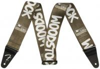 Courroie sangle Fender 2inch Woodstock Guitar Strap - Black