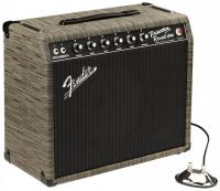 Combo ampli guitare électrique Fender '65 Princeton Reverb FSR Ltd - Chilewich Charcoal