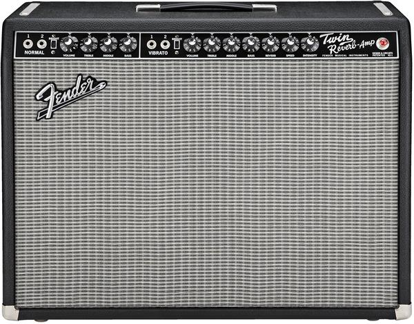 Combo ampli guitare électrique Fender '65 Twin Reverb - Black