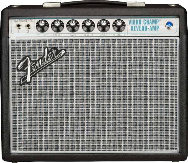 Combo ampli guitare électrique Fender '68 Custom Vibro Champ Reverb