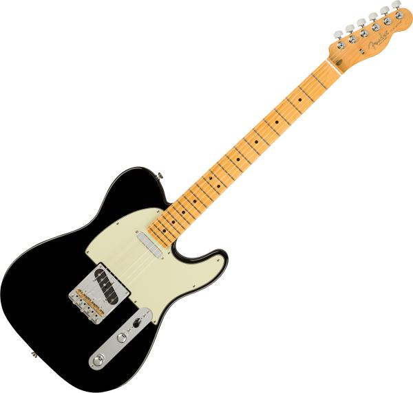 Guitare électrique solid body Fender American Professional II Telecaster (USA, MN) - Black