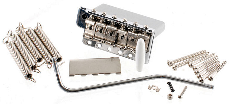 American Vintage Series Stratocaster Tremolo Assembly - Chrome