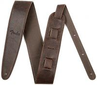 Courroie sangle Fender Artisan Crafted Leather Straps 2.5inc. - Brown