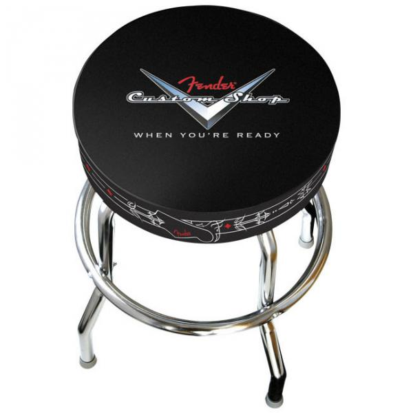 Tabouret bar stool Fender BarStool Custom Shop Pinstripe - 30in