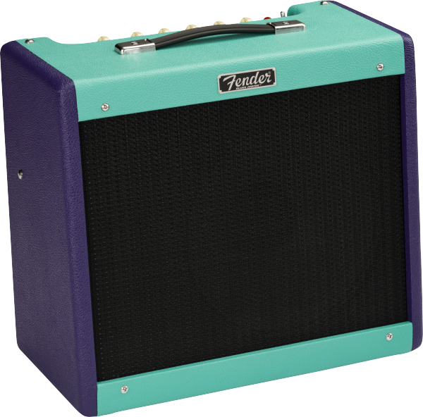 Combo ampli guitare électrique Fender Blues Junior IV FSR Ltd - Purple / Seafoam