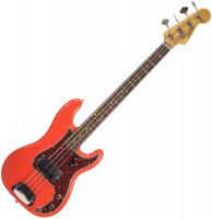 Custom Shop 1962 Precision Bass - Journeyman relic fiesta red