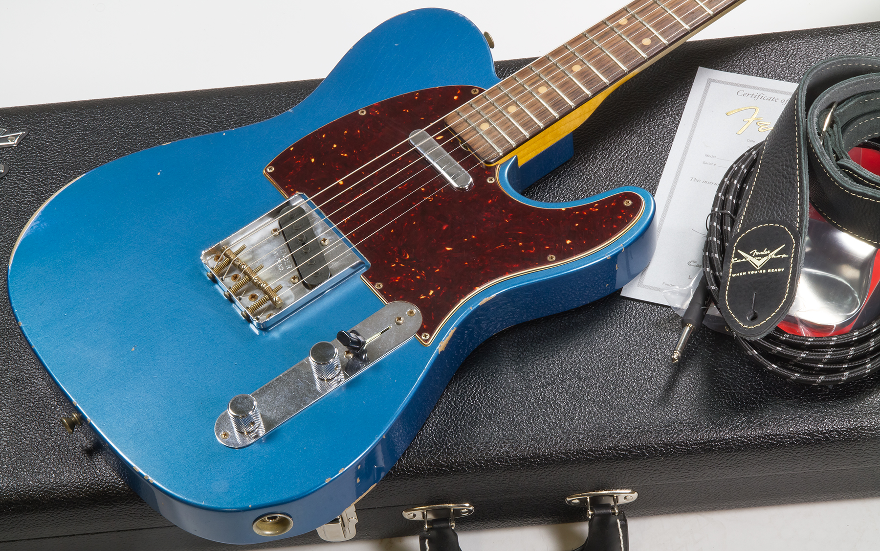 Custom Shop 40 Telecaster CZ40   relic lake placid blue
