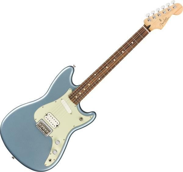 Guitare électrique solid body Fender Player Duo-Sonic HS (MEX, PF) - Ice blue metallic