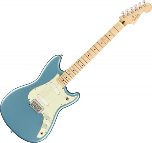 Guitare électrique solid body Fender Player Duo Sonic (MEX, MN) - Tidepool