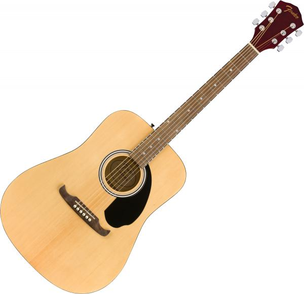 Guitare folk & electro Fender FA-125 2020 - Natural