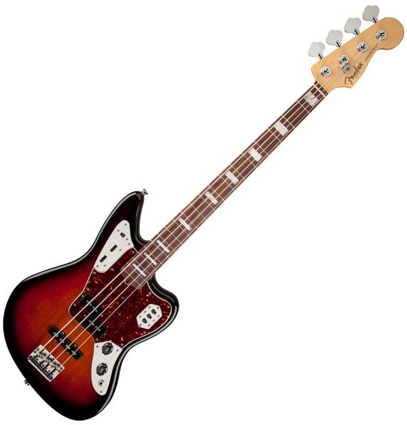 fender jaguar bass american standard usa rw 3 color sunburst basse lectrique solid body. Black Bedroom Furniture Sets. Home Design Ideas