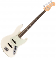Basse électrique solid body Fender American Professional Jazz Bass (USA, RW) - olympic white