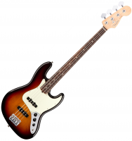 Basse électrique solid body Fender American Professional Jazz Bass (USA, RW) - 3 tone sunburst