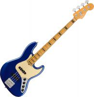 Basse électrique solid body Fender American Ultra Jazz Bass (USA, MN) - Cobra blue