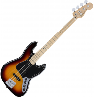 Basse électrique solid body Fender Deluxe Active Jazz Bass 2016 (MEX, MN) - 3-Color Sunburst